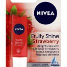 Nivea Fruity Shine Strawberry Lip Balm SPF10 Lip Care 4.8g