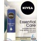 Nivea Essential Care Lip Balm Shea Butter Lip Care 4.8g