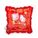 Sanrio Hello Kitty Hello Kitty & Dear Daniel Chinese Wedding Cushion Square