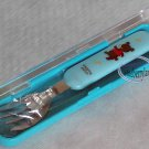 Fork with case Cutlery set bento lunchbox accessories
