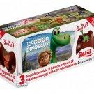Zaini Dinosaur Chocolate Surprise 3 Eggs With Toy Figure Inside choco kid boy girl