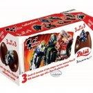 Zaini MotoGP Chocolate Surprise 3 Eggs With Toy Figure Inside choco kid boy girl