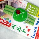 Japan Green Leaf with Lady Bug Bento Lunch box Strap Belt bento accessories