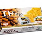 EDO Pack Almond Cracker 133g biscuits