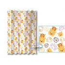 Disney TSUM TSUM Winnie the Pooh SHOWER CURTAIN bathroom accessories ring household Q16