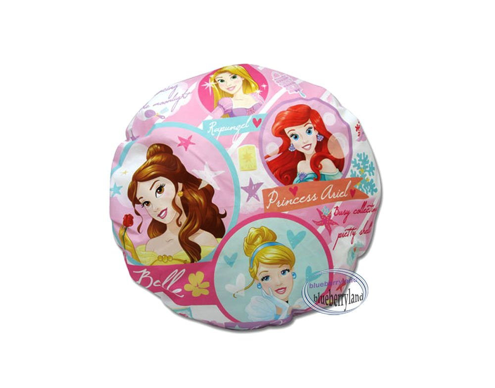 Disney Princess Shower Cap Hat For Adult Children Bathroom Bath Accessory  Accessories Ladies Girls