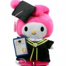 "Sanrio My Melody 12"" Tall Plush Doll figure figurine Graduation GIFT school university girls"