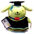 "Sanrio Pompompurin 12"" Tall Plush Doll figure figurine Graduation GIFT school university girls"