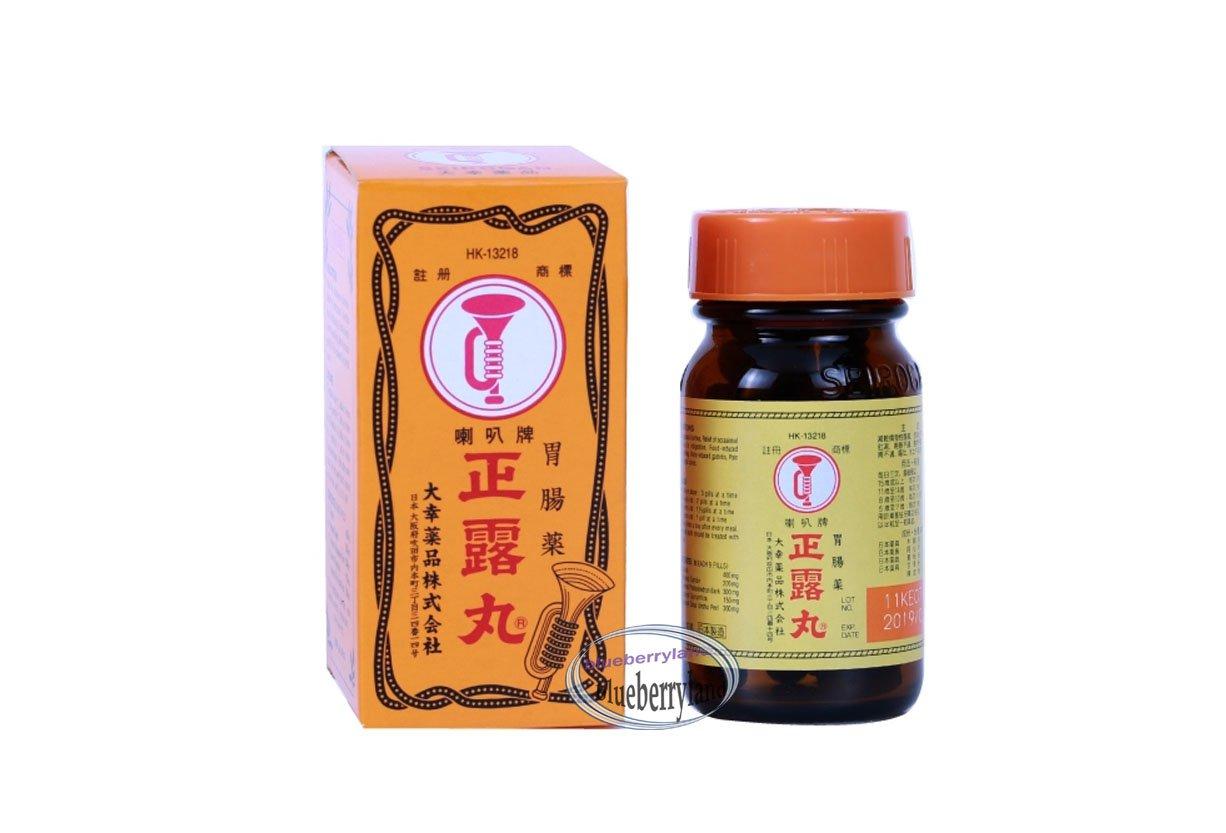 Japan Trumpet Brand SEIROGAN Gastrointenstinal Pills 100 Tablets ���正�丸100�