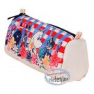 Moomin Canvas Cosmetic Purse Make up Bag  Pencil Case Bag ladies