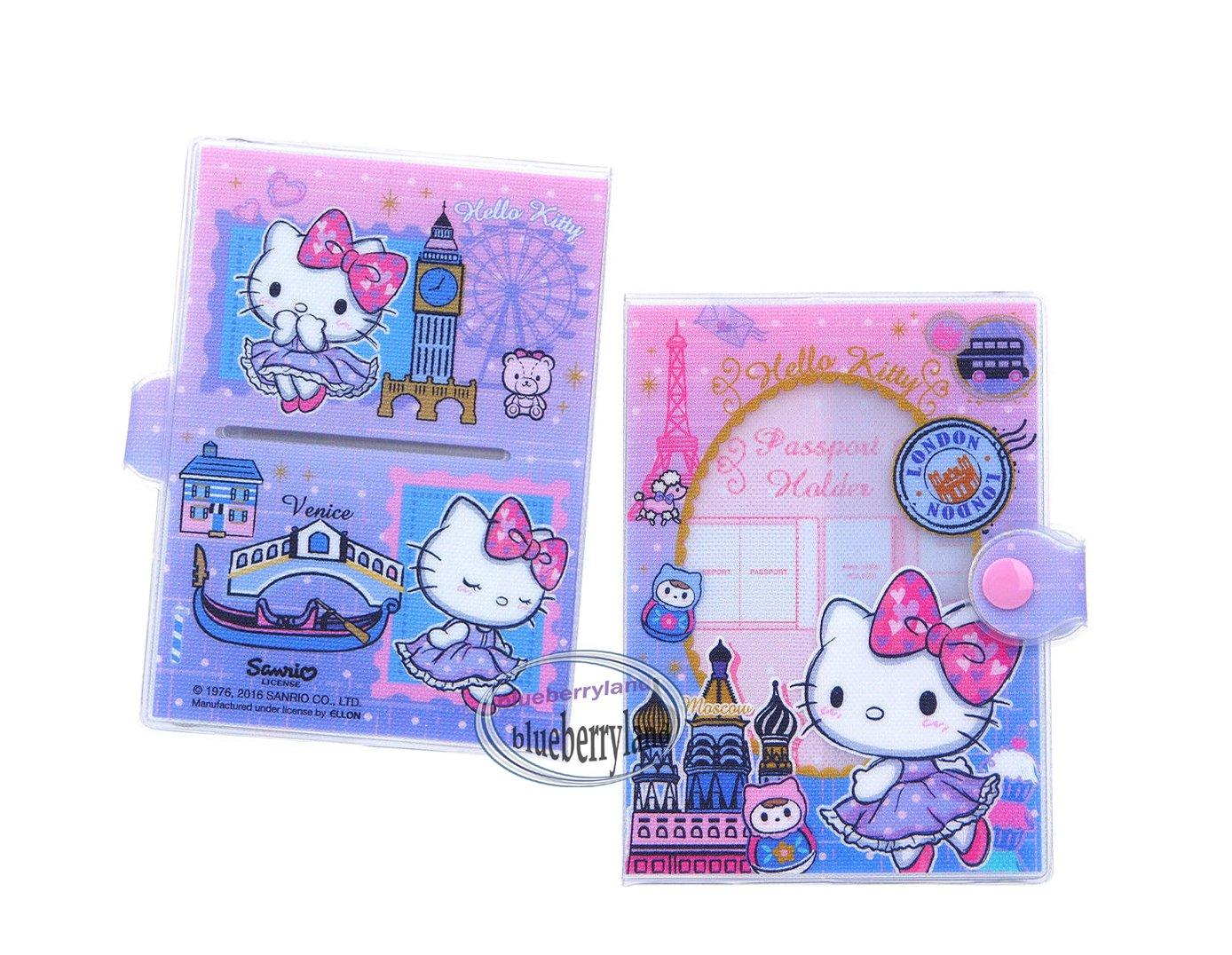 Sanrio Hello Kitty Passport Holder cover travel accessories R16