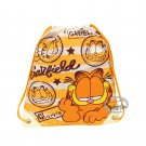 Garfield Canvas Drawstring Backpack BAG GYM Dance borsa Q6