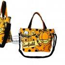 Garfield Canvas Shoulder Weekend School Work Handbag Cat Odie Tote BAG