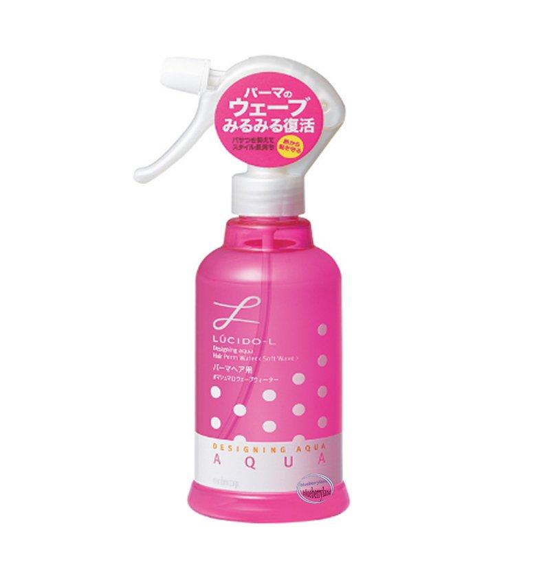Japan LUCIDO-L Designing Aqua Hair Perm Water Soft Wave 250ml
