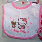 Sanrio Hello Kitty Cotton Baby Bib Muslins feeding kids