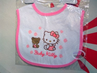 Sanrio Hello Kitty Cotton Baby Bib Muslins feeding kids