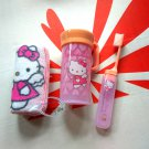 Sanrio HELLO KITTY Travel Toothbrush & Towel set face towels ladies girls