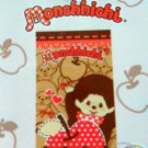 Monchhichi Face Towel 34cm x 60cm bathroom wash cloth towels ladies girls