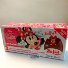 Zaini Disney MINNIE MOUSE Chocolate Surprise 3 Eggs With Toy Figure Inside choco ladies kid