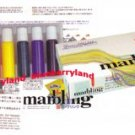 Japanese 6 Colors Marbling Suminagashi Dye Ink Set Buku-undo art hobby school