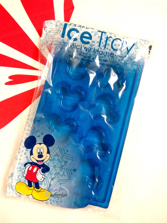 Japan Disney Mickey Mouse Ice Cube Tray Rack ice Figure Mold set kitchen fridge Ice Cubette