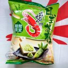 Calbee Prawn Crackers Wasabi flavor snacks TV parties ball games