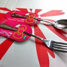 Japan Sanrio Hello Kitty Spoon Fork set kitchen Cutlery home