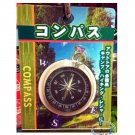 Japanese Pocket Compass Orientation Map Direction East South West North for Camping Hiking