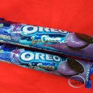 Oreo Blueberry Ice-cream flavor Sandwich cookie Biscuit 2 rolls packs