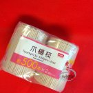 Japanese 1000 Pcs Round Carved Wooden Toothpicks set Catering Party Supplies kit