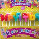 Candles HAPPY BIRTHDAY Pick Candle set