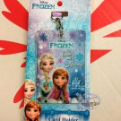 Disney Frozen Card Holder ID Tag Lanyard School Work Pass ID tag girls kid