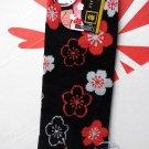 Japanese Tabi Sock Flip Flop Socks Poppy Split Toe Women in Traditional flower