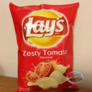 Lay's Zesty Tomato flavoured Potato Chips 75g snacks kids ladies home