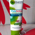GARNIER Pure Active Matcha De-Tox Pollution & Oil Deep Clean Foam cleanser 100ml skin care ladies