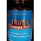 Holland & Barrett Triple Omega 369 1565mg 60 Capsules food supplement health care