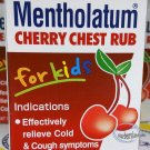 Mentholatum Cherry Chest Rub for Kids 28g or 1.76 Oz