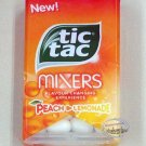Tic Tac Mixers Peach Lemonade Flavored Candy 2 Packs