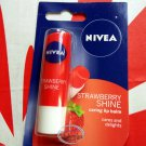 Nivea Strawberry Shine Caring Lip Balm 4.8g