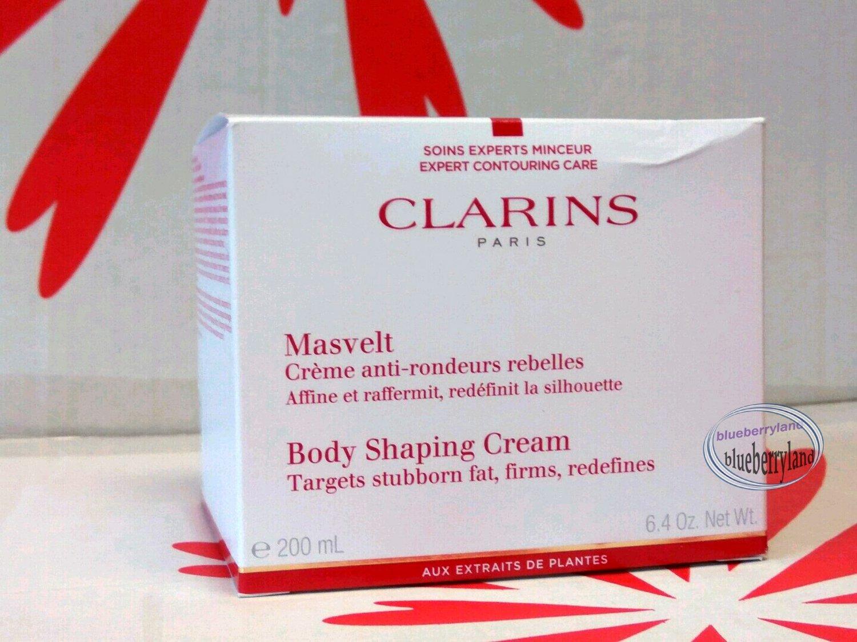 Clarins Body Shaping Cream 200ml / 6.4oz creme anti-rondeurs rebelles ladies