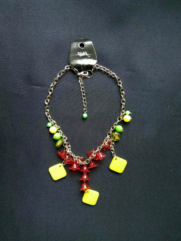 Ladies Fashion dangling beads Necklace women girls B