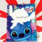 Disney STITCH & Scrump Passport Holder cover travel accessories boys Girls Q5
