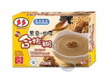 Torto Black Bean Pine Nut & Walnut  Dessert Powder 4x35g Sweets dessert snacks ladies men foods