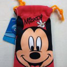 Disney MICKEY MOUSE Drawstring Bag Mobile Cell Phone BAGS MP3 DC case