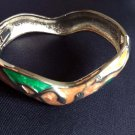 Vintage Heart Bangle bracelet fashion Jewelry Jewellery women ladies girl men