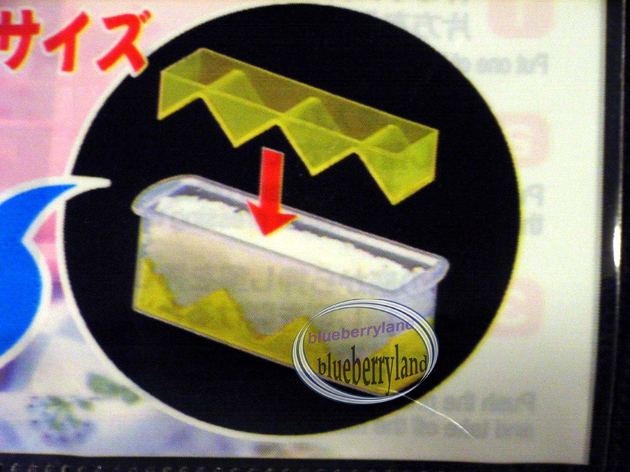 Japan Bento SUSHI Mould dice square Rice Ball Onigiri Mold Maker