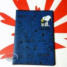 Peanuts Snoopy Passport ID Holder cover travel doc kit Q17