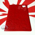 Sanrio Hello Kitty Passport Holder cover travel doc Q17 red ladies girls