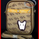 English Bull Terrier Dog Small Messenger Bag Waist Bag Sling Case Shoulder Pouch purse