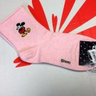 Disney Mickey Mouse Pink Sock ladies girls Socks 22 - 24cm
